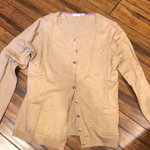 Boden Tan Sweater Size 12